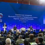 Медведев: «Единая Россия» находится на этапе формирования Партии нового типа