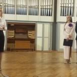 Мария Липчанская приняла участие в открытии проекта, приобщающего детей к музыке