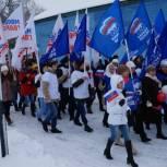В Вольске на открытие новой пешеходной зоны пришли 7 тысяч человек
