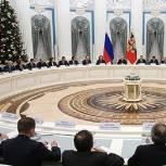 Путин поблагодарил парламент за активную работу над бюджетом