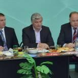 Железнодорожный район: Вадим Супиков принял участие в совместном заседании администрации и Совета директоров