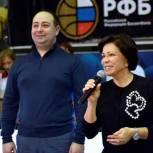 Дмитрий Волошин и Ирина Роднина наградили победителей «Чебуриады» в Химках
