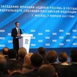 Стенограмма выступления Медведева на выездном заседании фракции «Единой России»