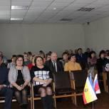 Сенатор Лариса Тюрина приняла участие в отчетном мероприятии в Ухоловском районе
