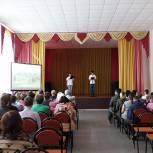 Молодежная организация Кадомского района поделилась опытом работы с ермишинцами