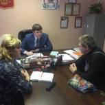 Проблемы жителей Смоленского района – на контроле у депутата областной Думы