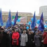 Единороссы Коми празднуют годовщину воссоединения Крыма с Россией вместе с жителями республики