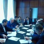 Состоялось первое заседание регионального оргкомитета по подготовке и проведению предварительного голосования
