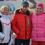 Алексей Салмин побывал на легкоатлетическом закаливающем пробеге «Сибирское здоровье»
