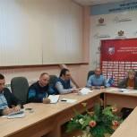 Члены местного политсовета Октябрьского района Рязани собрались на заседание