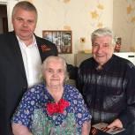 Ветеранов Рязанского района поздравил депутат-единоросс