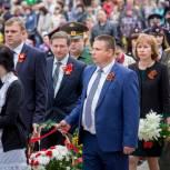 В Калининске открыли памятник  участнику Великой Отечественной войны