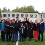 В рамках партпроекта в Егорьевской школе № 12 открылось мини-футбольное поле с искусственным покрытием