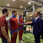 Дмитрий Медведев провел встречу со спортсменами в Химках