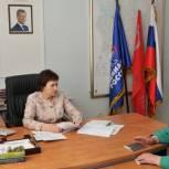 Елена Бибикова провела приём граждан в Пскове