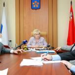 Лидия Антонова провела прием граждан в Люберцах