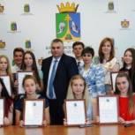 В Клепиковском районе отметили активную молодежь