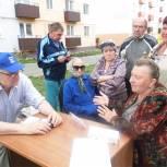 Региональная общественная приемная партии «Единая Россия» приняла участие во встрече с населением микрорайона Заря