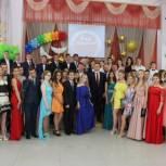 Лидеры предварительного голосования посетили Бал медалистов в саратовском лицее