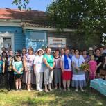 В Пителинском районе партийцы организовали памятную акцию