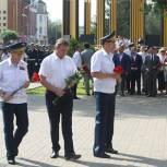 В Рязани возложили цветы к памятнику погибшим в локальных войнах