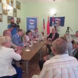 Ирина Слуцкая провела партийный прием в городском поселении Фряново