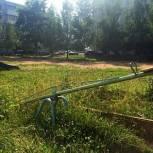 В Смоленском районе приведут в порядок детские площадки