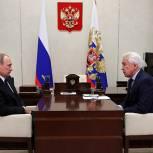 Владимир Путин поддержал идею о проверке Генпрокуратурой РФ обращений обманутых дольщиков