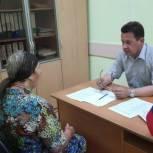 Жители Шуи обратились в приемную за помощью в решении вопросов ЖКХ