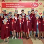Партия организовала «cлaдкyю» экcкypcию для дeтeй из Cвoбoднoгo