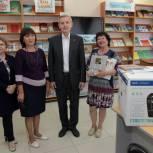 В сумкинской библиотеке — новая техника