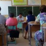 Алексей Манджиев встретился с избирателями