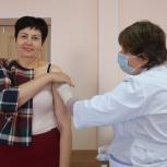 Каширский актив партии «Единая Россия» прошел вакцинацию