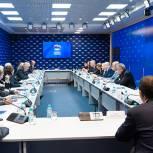 Члены Высшего совета ЕР провели встречу с представителями немецкой организации «Global bridges»