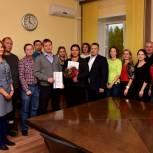 Денис Гусев встретился с коллективом «ТЗК-Архангельск»