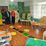 В Елатомском детском саду создали условия для воспитанников с ограниченными возможностями здоровья