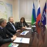 Борис Хохряков провёл рабочую встречу с руководителями Сургута