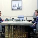 Дмитрий Медведев назначил Андрея  Турчака исполняющим обязанности секретаря Генсовета Партии