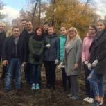 Депутат приняла участие в экологической акции