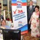 Пенсионер из Хабаровска получил персональный компьютер в рамках партийного проекта «Старшее поколение»