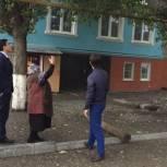 Депутаты Кировского районного собрания выехали по обращению граждан