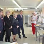 Лидия Антонова приняла участие в открытии учебной лаборатории «Пекарь» в Краскове Люберецкого округа
