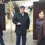 Решение жилищной проблемы жительницы Кизляра находится на контроле Партии