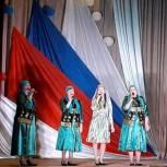 Жители Воскресенского района приняли участие в праздничном концерте