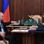 Мединский рассказал Путину о значительном росте интереса к театрам