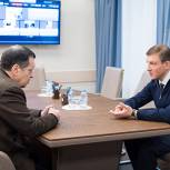 Андрей Турчак обсудил с Андреем Макаровым поправки в бюджет