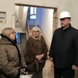 Депутат Мособлдумы Сергей Керселян ознакомился с ходом капитального ремонта хоровой школы «Подлипки» в Королёве