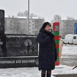 В Сасово открыли памятник воинам-пограничникам