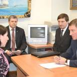 Турчак провел прием граждан в Пскове в рамках недели приемов