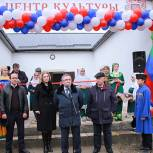 Левицкий принял участие в открытии Дома культуры в Кайтагском районе